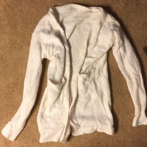 Super Soft Cream Cardigan